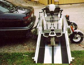 PR04575 Eze-Trans Scooter and Powered Wheelchair Carrier