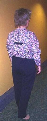 PR04897 Petal Back Sundowner Suit