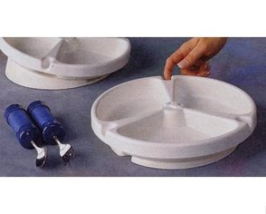 Rolyan Revolving Partitioned Scoop Dish