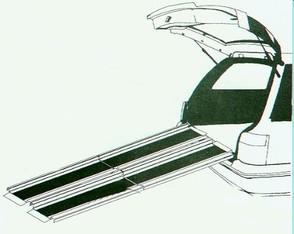 AC Mobility Folding Aluminium Track Ramps