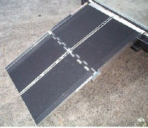 Bariatric Multifolding Wheelchair Ramp