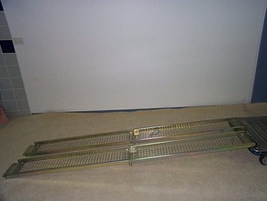 Portable Two Track Channel Ramps