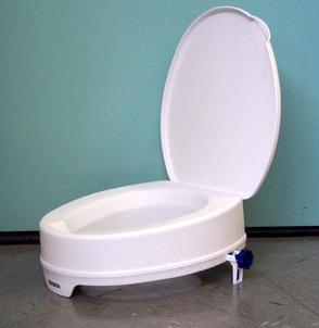 Pleasant Aquatec 90 Raised Toilet Seat Independent Living Centres Evergreenethics Interior Chair Design Evergreenethicsorg