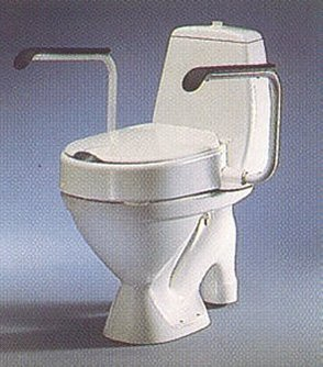 Etac Hi-Loo Toilet Seat Raiser