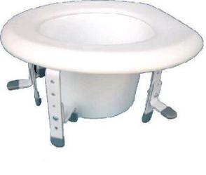 PR01059 Freedom Healthcare Adjustable Toilet Seat Raiser