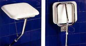K-Care Fold-Up Shower Seat