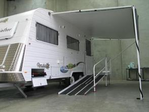 Caravan Modification for Wheelchair Access