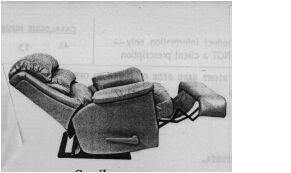 PR05800 Moran Action Recliner Chair