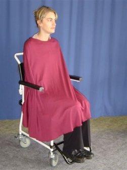 Petal Back Clothing Shower Cape