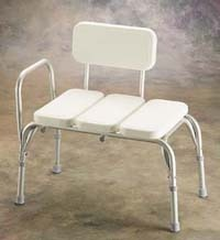 Invacare Transfer Bench with Vinyl Padded Seat
