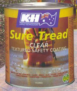 K & H Sure Tread Safety Coating Range