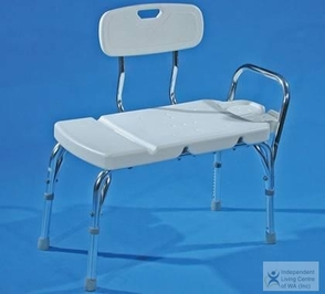 AusCare Transfer Bench with Back