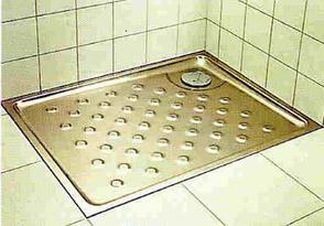 Britex decorative shower base