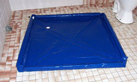 ILS portable shower tray