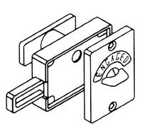 Dalco Toilet Door Locks.