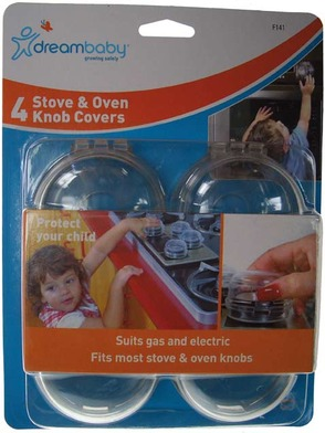 Dreambaby Stove Knob Cover Packaged