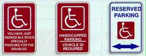 Disabled Acess Signs