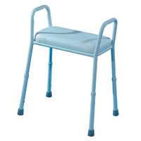 Auscare Extra Wide Padded Shower Stool