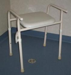R and R Manufacturing Shower Stool