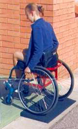 Tyrex Wheelchair Threshold Ramps