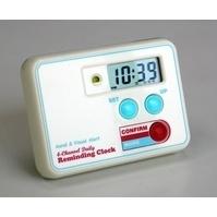 Medication reminder clock