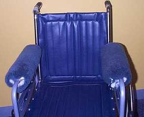 Glide Wheelchair Armrest Covers.