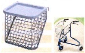 Basket for a 3 wheeled walking frame.