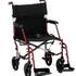 PR18038 Redgum Hematite Lightweight Transit Wheelchair