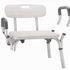 PR18090a Redgum Aluminium Shower Stool