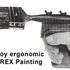 Stirex Ergonomic Paintbrush Handles