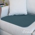 Conni Large Chair Pad - teal blue