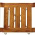 Delta S14 Timber Shower Stool - top view