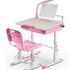 Kids Workstations - Ella, with optional LED lamp and bookstand