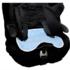 Brolly Sheets Waterproof Kids Car Seat Protector - in-situ on booster seat.
