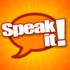 Speak It! Text to Speech App symbol