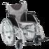 Drive Medical Aluminium Folding Wheelchair - Self-propelled