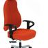 Therapod 24/7 Contemporary 3 Lever Office Chair (shown with optional headrest)