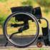 Kuschall Champion Wheelchair - example of folding backrest