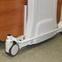 Deutscher Healthcare Big Ted Folding Bariatric Floorline Bed - central locking bar