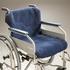 Sheepskin wheelchair cover - alternative view