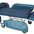Regency Sertain Hi-Low Pressure Care Chair - S4100, in full recline
