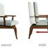 Revolution Chair - Timber model showing slide and swivel