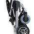 Ezi-Rider Folding Electric Wheelchair - folded