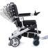 Ezi-Rider Folding Electric Wheelchair - backrest recline angles