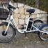 White Electric Tricycle