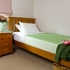 Lime  Brolly Sheet (Single Bed) With tuck in wings