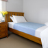 Blue Brolly Sheet (Single Bed) With tuck in wings