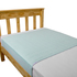 King Sngle Brolly Sheet Bed Pad - Pale Mint