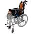 WM2010WCM Lightweight Aluminium Self Propelling Wheelchair - folded
