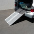 Redgum Brand Aluminium Hinged Access Ramp - 1.2m ramp showing van access